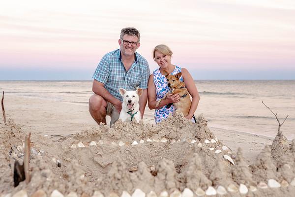 Christine & Doug Ahern Beach Photos