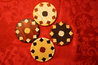 Parquetry Coasters