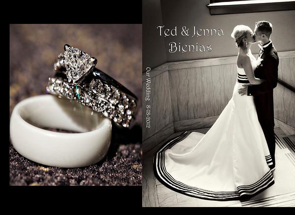 Jenna & Ted 8x12 Tuscany Wedding Album