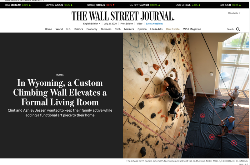 Wyoming Custom Wall | The Wall Street Journal