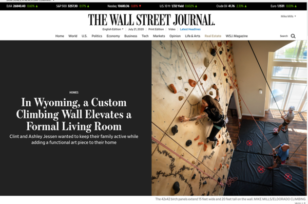 Wyoming Custom Wall | The Wall Street Journal