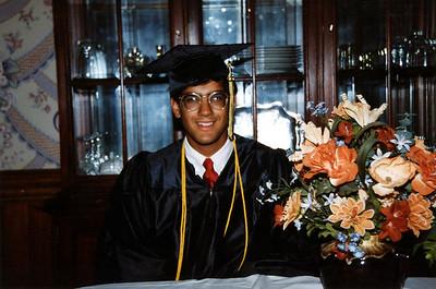 Sanjeev Evans Graduation