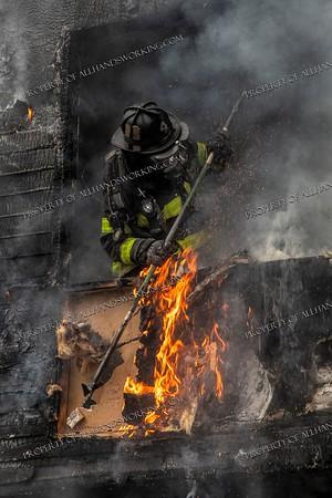 2 Alarm Dwelling Fire - 64 Monroe St, New Haven, CT - 5/5/21
