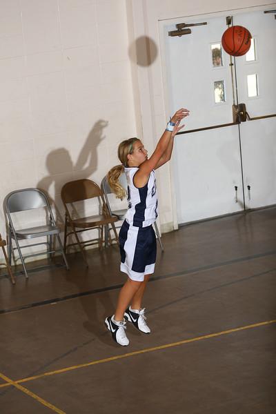 RCS MS Girls' Basketball vs Valley Christian - Jan. 18, 2011