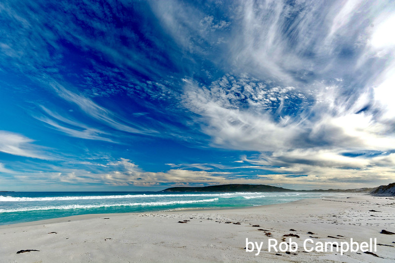 Tagon Beach. On Southern Ocean, south east coast, Western Australia.