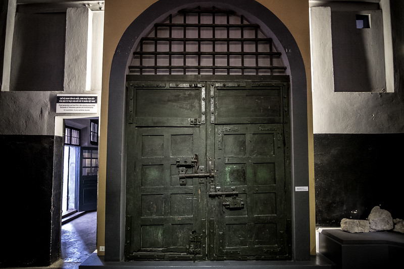 The Front Door of Ha Lo Prison