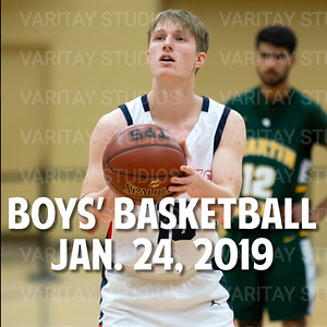 Boys Basketball, January 24, 2020