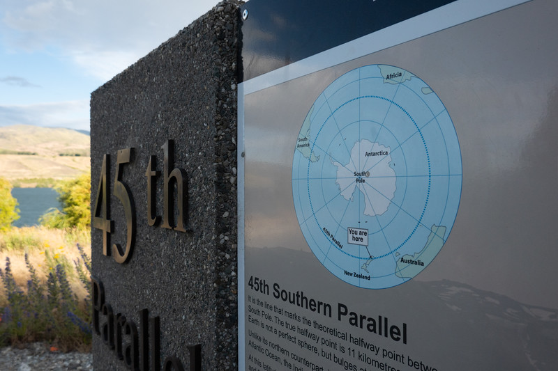 45th Parallel South
