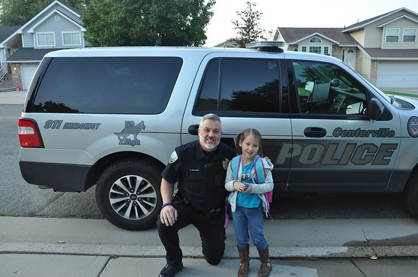 Ride to School with Police