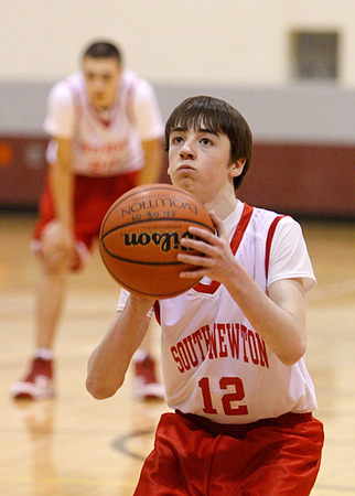SNMS Boys Basketball 8 vs Rensselaer 2010