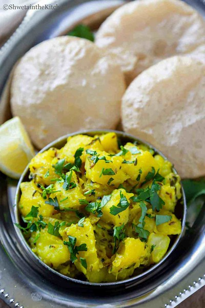Batata Bhaji - vegan Indian recipes