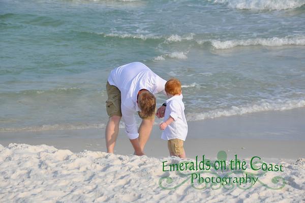 Sutherland-Varner Family Beach Portraits