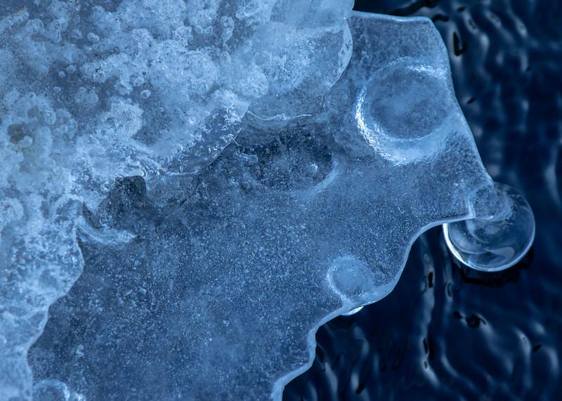 Seljalandsfoss Ice Creature