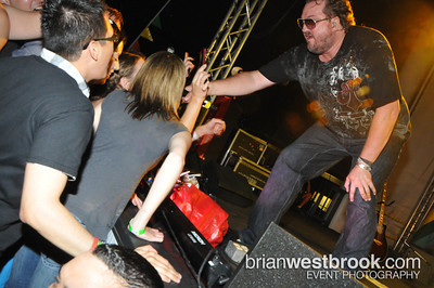 World Out Games Closing Party w/Ace of Base at Plaza of Nations (30 July 2011)