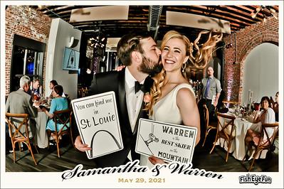 5/29/21 - Samantha & Warren