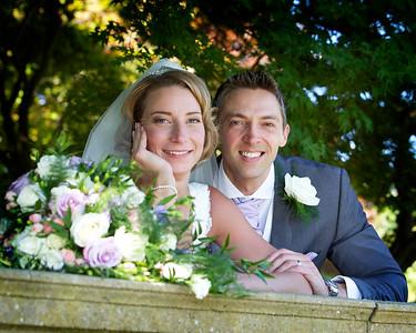 Clare and Mark Yates Wedding