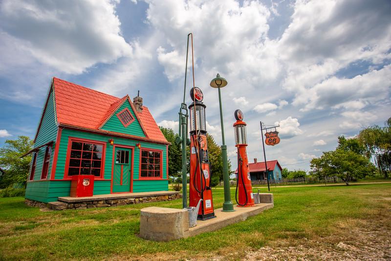 Route 66 Missouri - Red Oak II Ghost Town