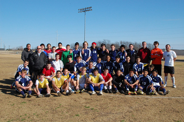 Rowlett Eagles Varsity vs Alumni