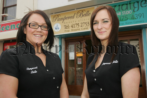 Shauna Cahill and Claire Sloan from Pampered Belle. 07W35N13
