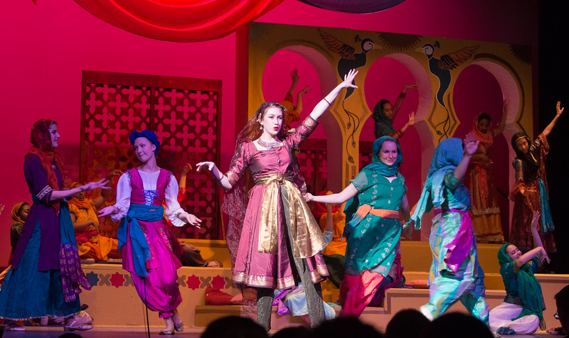 "Lalume (""Rahadlakum"") -- Kismet, Montgomery Blair High School spring musical, April 15, 2016 performance (Silver Spring, MD)"