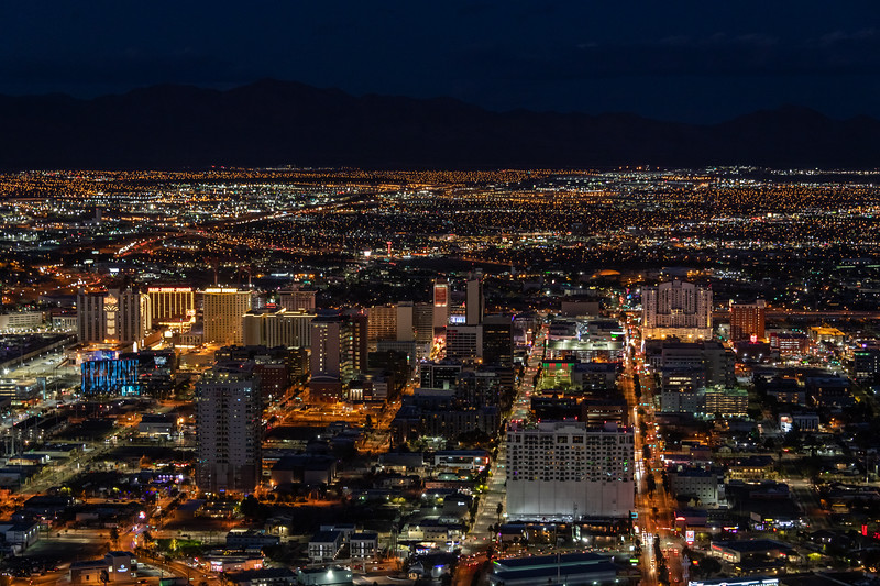 Freemont Street and North Las Vegas