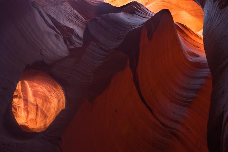 """Hole in the Wall"", Canyon X near Page Az."