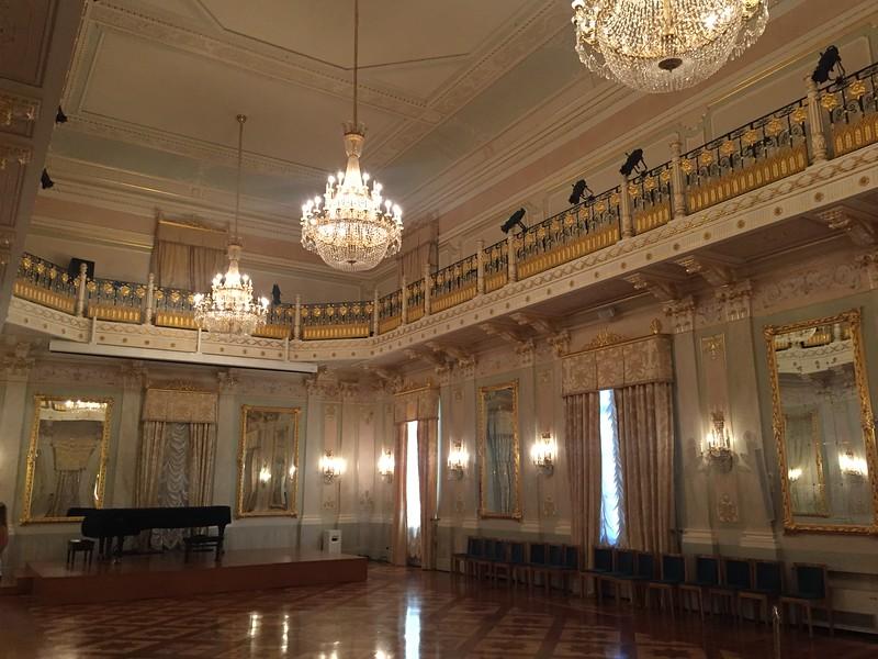 Ballroom. Teatro La Fenice. Venice.