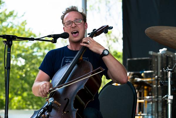 Ben Sollee - Nelsonville Music Festival 2015