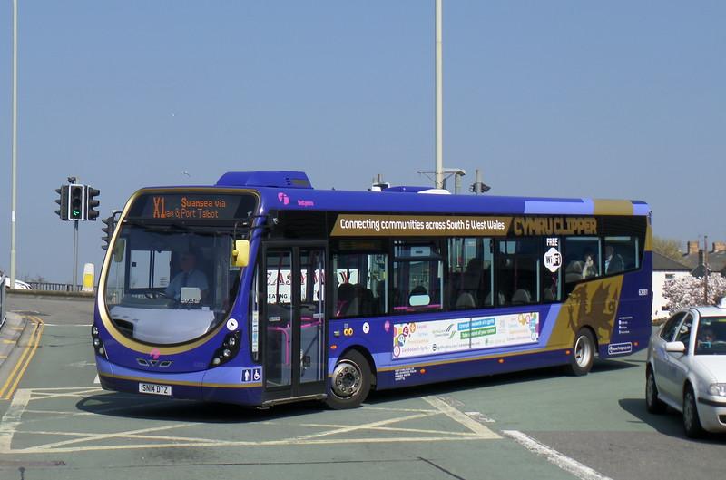 First Cymru 63081 - SN14DTZ - Bridgend (bus station)