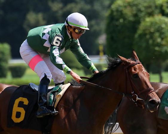 Saratoga Race Track, August 9, 2018