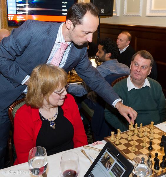 Veselin Topalov in action