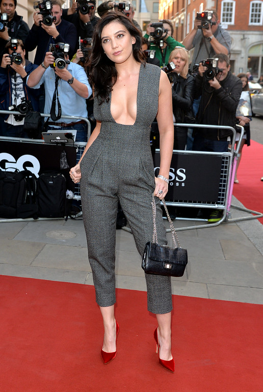 . Daisy Lowe attends the GQ Men of the Year awards at The Royal Opera House on September 2, 2014 in London, England.  (Photo by Anthony Harvey/Getty Images)