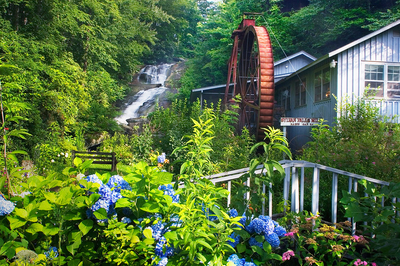 Sylvan Mill Falls in Mountain City, Ga.