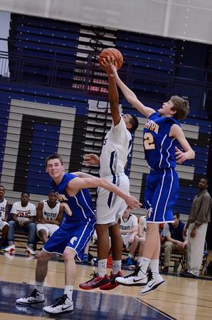 OE Soph. B basketball Vs Wheaton North 2015