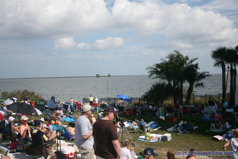 Pre-launch photo - Launch of Space Shuttle Discovery - STS-133, Feb 24, 2011 - Titusville, FL