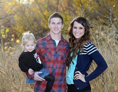 Dobbins Family in Park-12-16-13