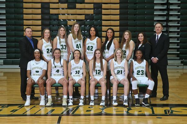 2019 Women's Basketball Team