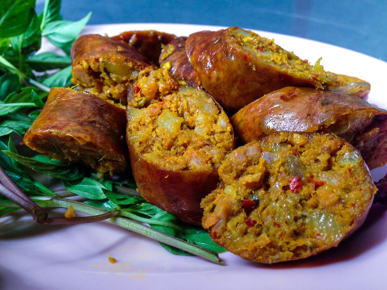 Street Food: Chiang Mai Sausage