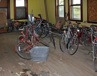 Definitely not bicycles from the old school era!