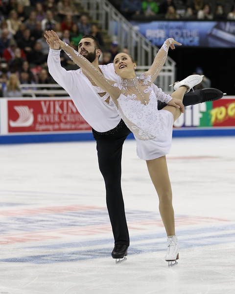 Ashley Cain and Tim LeDuc looking lovely here, on their way to a bronze medal.