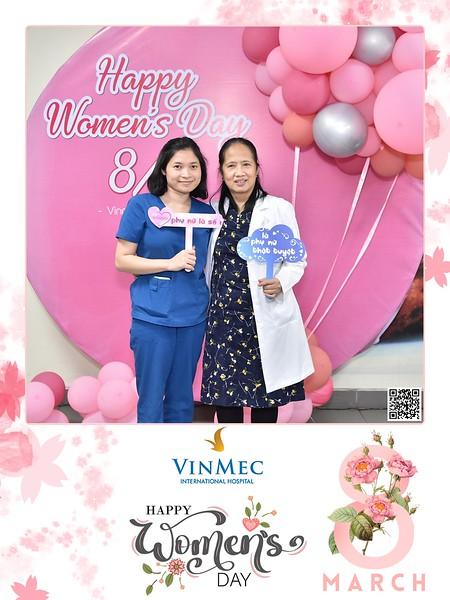 Vinmec | Women's Day instant print photo booth | Chụp ảnh in hình lấy ngay Quốc tế Phụ Nữ 8/3 | Photobooth Hanoi