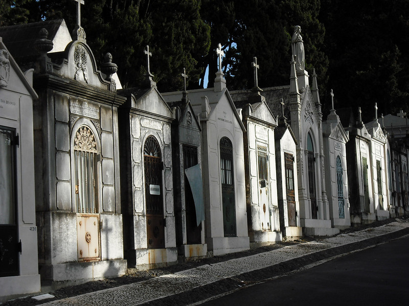 Lisbon, Portugal.  Cemetery.