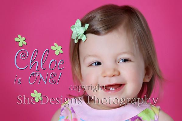Chloe is one!