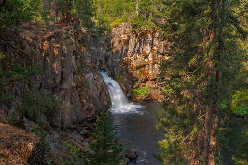 Upper McCloud Falls