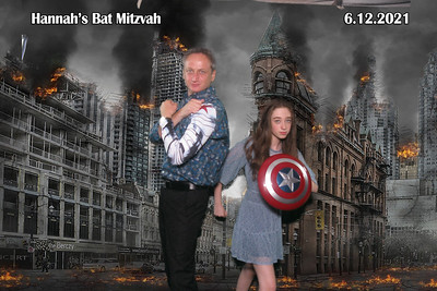 2021-06-12, Hannah's Bat Mitzvah