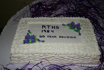 Tracey's 20 year Class Reunion