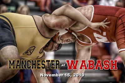 2019 Manchester at Wabash (11-15-19)