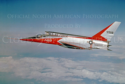 North American Aviation F-107 UltraSabre Military Airplane Prototype Pictures