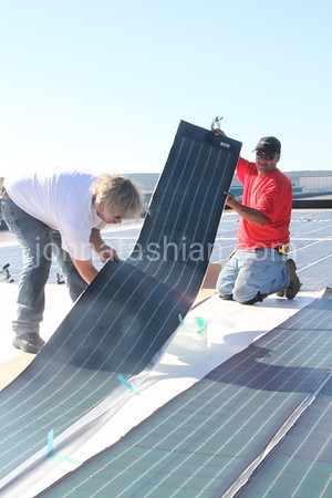 Firestone - Solar Panel Installation - August 30, 2012