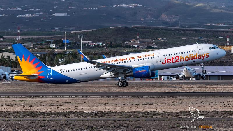 Jet2 Holidays / Airbus A321-211(WL) / G-HLYF